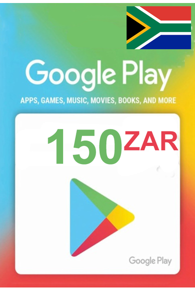 Google Play 150 (ZAR) (South Africa) Gift Card