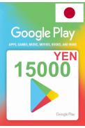 Google Play 15000 (YEN) (Japan) Gift Card