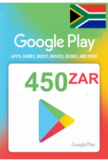 Google Play 450 (ZAR) (South Africa) Gift Card