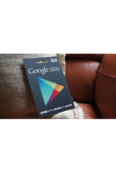 Google Play $5 (USD) (USA/North America) Gift Card