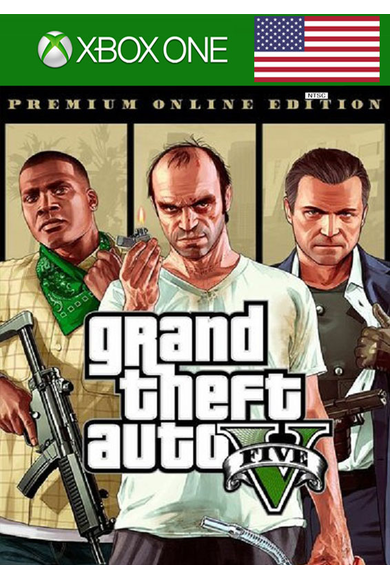 Grand Theft Auto 5 (GTA V): Premium Online Edition (US) (Xbox One)