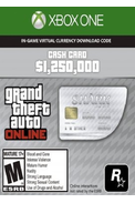 Grand Theft Auto Online: Great White Shark Cash Card - GTA V (5) (Xbox One)