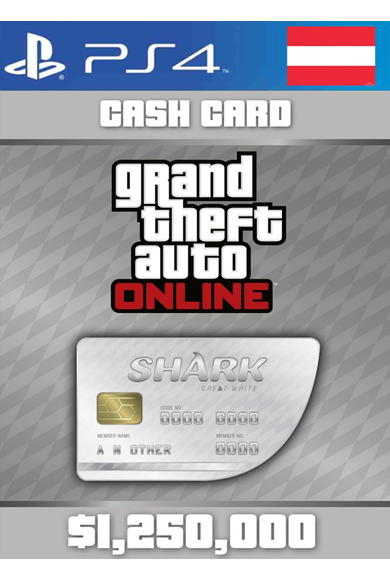 Grand Theft Auto Online: Great White Shark Card GTA Online - GTA V (5) (Austria) (PS4)
