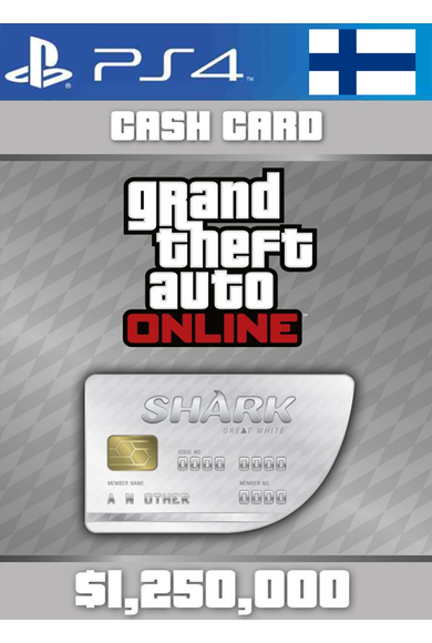 Grand Theft Auto Online: Great White Shark Card GTA Online - GTA V (5) (Finland) (PS4)
