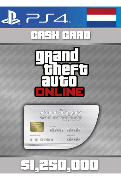 Grand Theft Auto Online: Great White Shark Card GTA Online - GTA V (5) (Netherlands) (PS4)