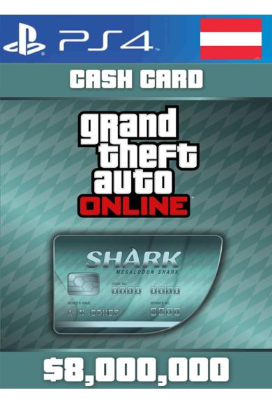 Grand Theft Auto Online: Megalodon Shark Card GTA Online - GTA V (5) (Austria) (PS4)