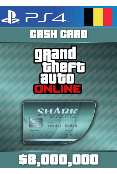 Grand Theft Auto Online: Megalodon Shark Card GTA Online - GTA V (5) (Belgium) (PS4)