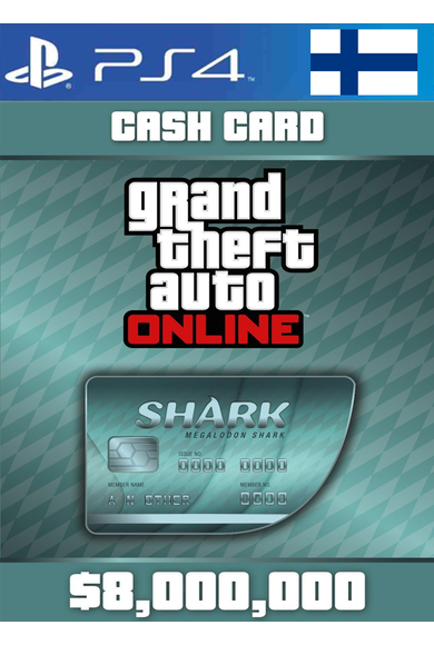 Grand Theft Auto Online: Megalodon Shark Card GTA Online - GTA V (5) (Finland) (PS4)
