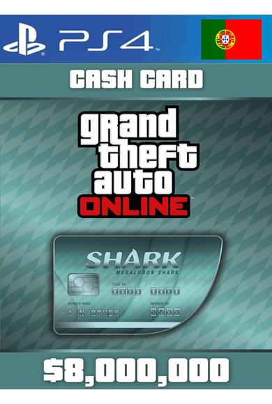 Grand Theft Auto Online: Megalodon Shark Card GTA Online - GTA V (5) (Portugal) (PS4)