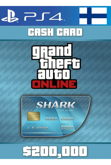 Grand Theft Auto Online: Tiger Shark Card GTA Online - GTA V (5) (Finland) (PS4)