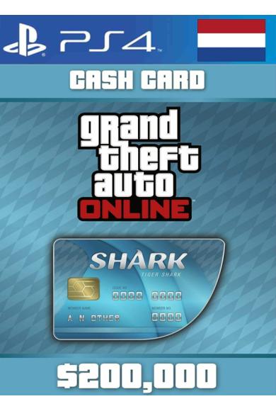 Grand Theft Auto Online: Tiger Shark Card GTA Online - GTA V (5) (Netherlands) (PS4)