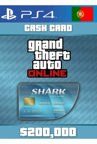 Grand Theft Auto Online: Tiger Shark Card GTA Online - GTA V (5) (Portugal) (PS4)