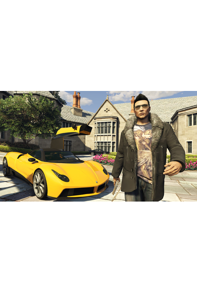 Grand Theft Auto Online: Tiger Shark Card GTA Online - GTA V (5) (Germany) (PS4)