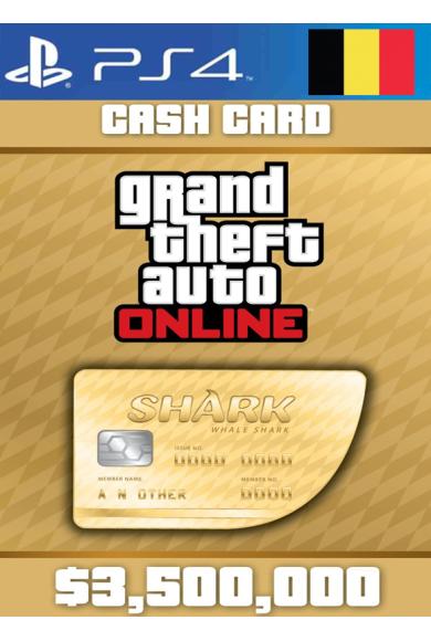 Grand Theft Auto Online: Whale Shark Card GTA Online - GTA V (5) (Belgium) (PS4)