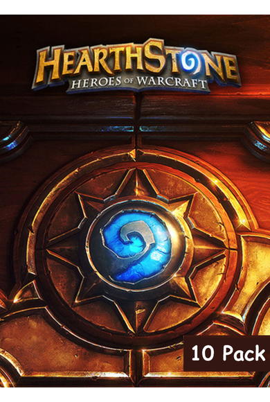 Hearthstone Deck Of Cards - 10 Pack
