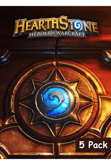 Hearthstone Deck Of Cards - 5 Pack
