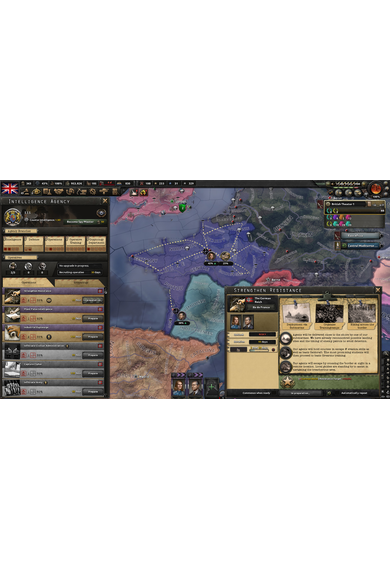 Hearts of Iron IV (4): La Résistance (DLC)