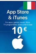 Apple iTunes Gift Card - 10€ (EUR) (Italy) App Store