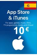 Apple iTunes Gift Card - 10€ (EUR) (Spain) App Store