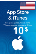 Apple iTunes Gift Card - $10 (USD) (USA/North America) App Store