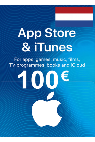 Apple iTunes Gift Card - 100€ (EUR) (Netherlands) App Store