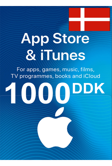 Apple iTunes Gift Card - 1000 (DKK) (Denmark) App Store