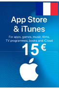 Apple iTunes Gift Card - 15€ (EUR) (France) App Store