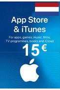 Apple iTunes Gift Card - 15€ (EUR) (Netherlands) App Store