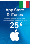 Apple iTunes Gift Card - 25€ (EUR) (Italy) App Store