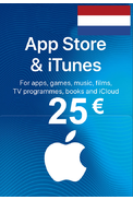 Apple iTunes Gift Card - 25€ (EUR) (Netherlands) App Store