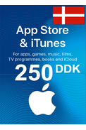 Apple iTunes Gift Card - 250 (DKK) (Denmark) App Store