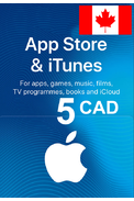 Apple iTunes Gift Card - 5 (CAD) (Canada) App Store
