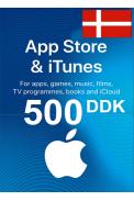 Apple iTunes Gift Card - 500 (DKK) (Denmark) App Store