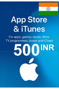 Apple iTunes Gift Card - 500 (INR) (India) App Store