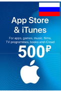 Apple iTunes Gift Card - 500 (RUB) (Russia - RU/CIS) App Store