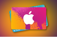 Apple iTunes Gift Card - $50 (USD) (USA/North America) App Store