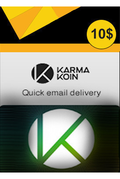 Karma Koins Gift Card 10$ (USD)