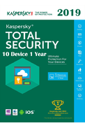 Kaspersky Total Security 2019 - 10 Device 1 Year