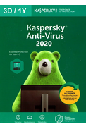 Kaspersky Antivirus 2020 - 3 Device 1 Year