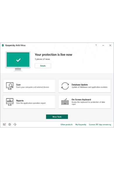 Kaspersky Antivirus 2020 - 2 Device 1 Year