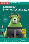 Kaspersky Internet Security 2020 - 1 Device 1 Year