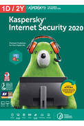 Kaspersky Internet Security 2020 - 1 Device 2 Year