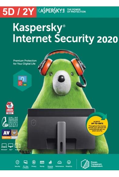 Kaspersky Internet Security 2020 - 10 Device 1 Year