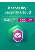 Kaspersky Security Cloud - 20 Device 1 Year