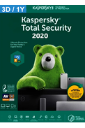Kaspersky Total Security 2020 - 3 Device 1 Year