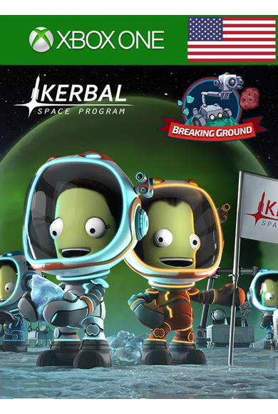 Kerbal Space Program: Breaking Ground Expansion (DLC) (USA) (Xbox One)