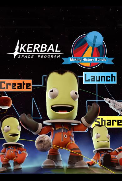 Kerbal Space Program & Making History Bundle
