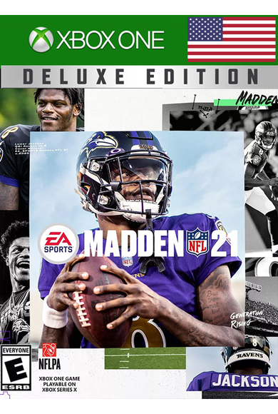 Madden NFL 21 - Deluxe Edition (USA) (Xbox One)