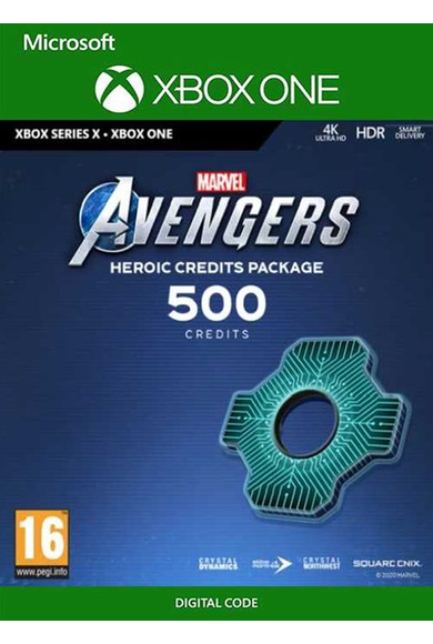 Marvel's Avengers - 500 Heroic Credits Pack (Xbox One / Series X)