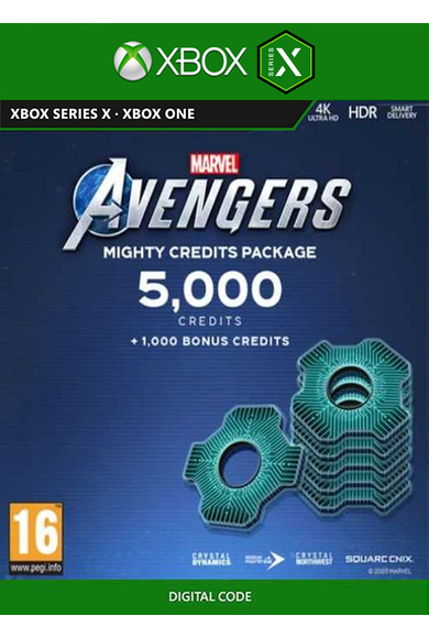 Marvel's Avengers - 5000 Heroic Credits Pack (Xbox One / Series X)